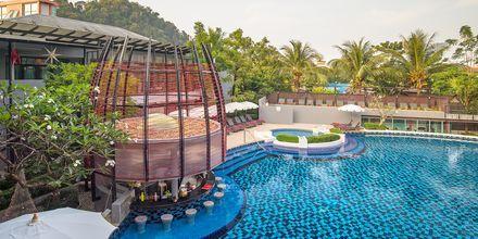 Poolområde på Hotel Red Ginger Chic Resort, Ao Nang, Krabi, Thailand