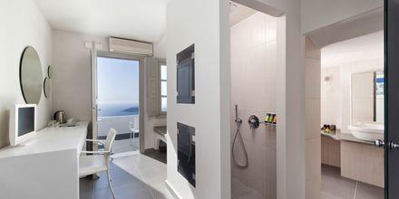 Junior-suite på Hotel Regina Mare på Santorini, Grækenland.
