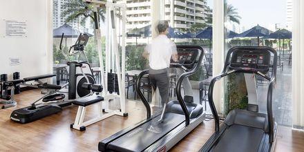 Fitness på Hotel Rembrandt i Bangkok, Thailand.