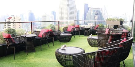 Bar på Hotel Rembrandt i Bangkok, Thailand.