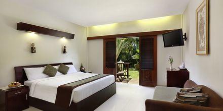 Deluxe-værelse på Respati Beach i Sanur på Bali, Indonesien.