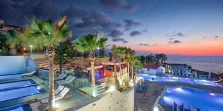 Vandparken på Hotel Rethymno Mare Resort på Kreta, Grækenland.