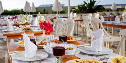 Restaurant på Hotel Rethymno Mare Resort på Kreta, Grækenland.