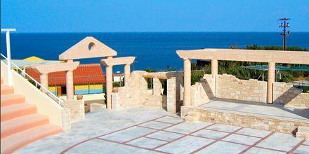 Teaterscene på Hotel Rethymno Mare Resort på Kreta, Grækenland.