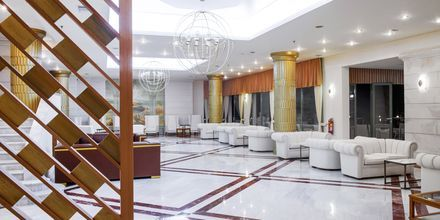 Lobby på hotel Rethymno Palace i Rethymnon på Kreta, Grækenland.