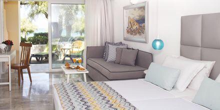 Familie-værelse på hotel Rethymno Palace i Rethymnon på Kreta, Grækenland.