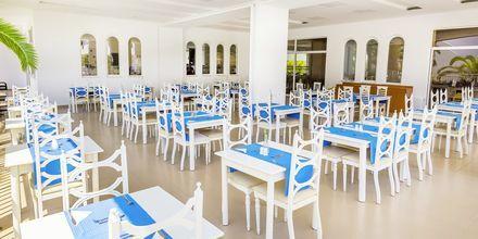 Restaurant på Hotel Rethymno Residence ved Rethymnon Kyst på Kreta, Grækenland.