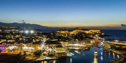 Rethymnon by på Kreta, Grækenland.