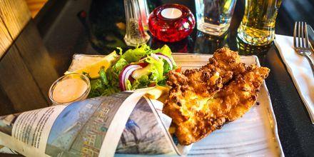 Fisk på menuen i Reykjavik