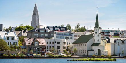 Reykjavik på Island.