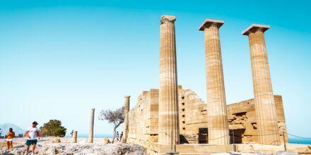 Akropolis på Rhodos i Grækenland.