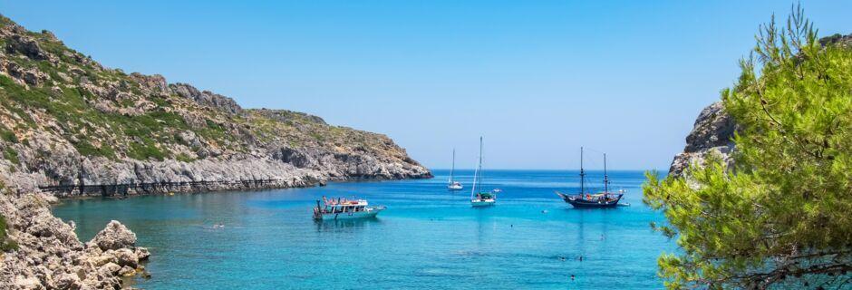 Ladikos på Rhodos, Grækenland.