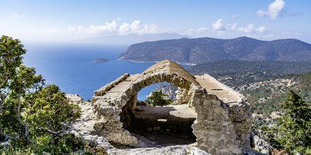 Monolithos på Rhodos, Grækenland.