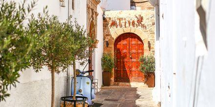 Lindos på Rhodos i Grækenland.