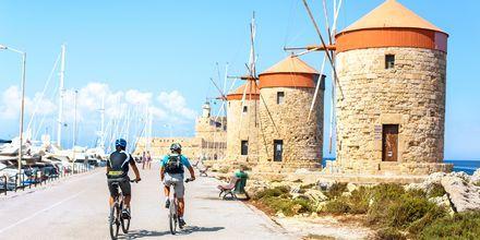 Oplev Rhodos by fra en cykel, Rhodos i Grækenland.
