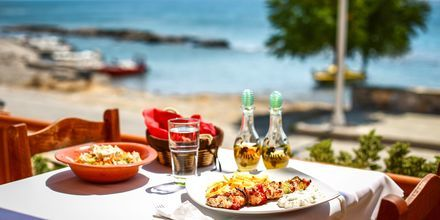 Restaurant på Rhodos i Grækenland.