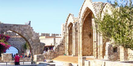 Den gamle del af Rhodos by, Rhodos i Grækenland.
