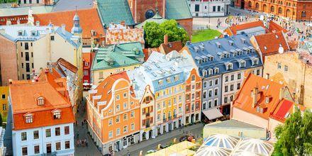 Riga fra oven.