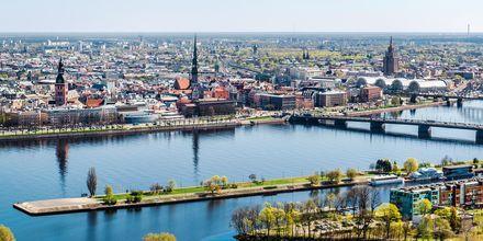 Riga i Letland.