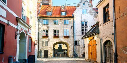 Kvarteret fra middelalderen.
