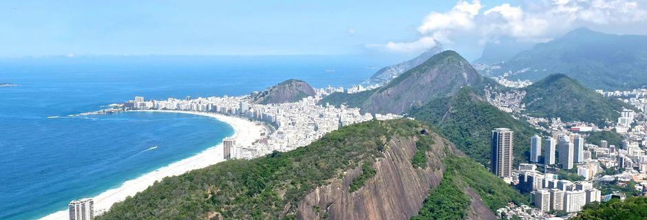 Udsigtspunkt i Rio de Janeiro