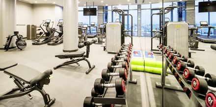 Fitnessrum på Ritz-Carlton Doha i Doha, Qatar.
