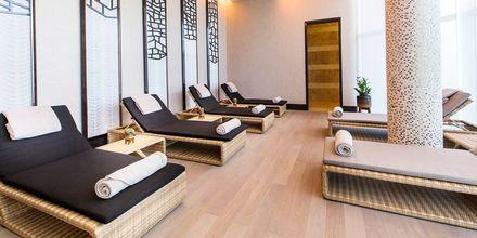 Relax-afdeling på Ritz-Carlton Doha i Doha, Qatar.