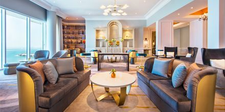 Club lounge på Ritz-Carlton Doha i Doha, Qatar.