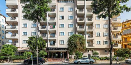 Hotel Riviera Apart i Alanya, Tyrkiet.