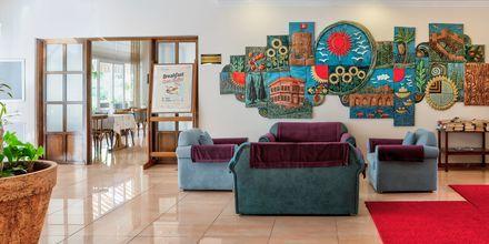 Lobby på Hotel Riviera Apart i Alanya, Tyrkiet.