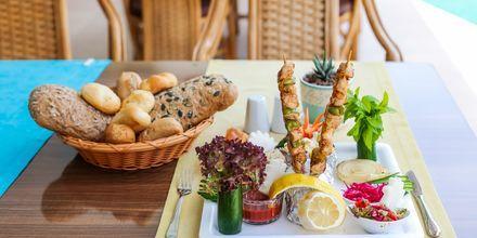 Restaurant på Hotel Riviera Apart i Alanya, Tyrkiet.