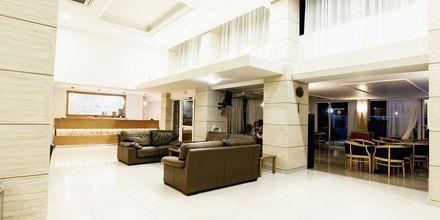 Lobby på Hotel Riviera på Rhodos, Grækenland.