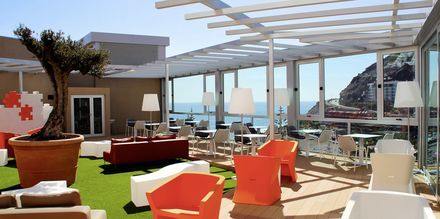 Poolbaren på Hotel Riviera Vista i Playa del Cura, Gran Canaria, De Kanariske Øer.