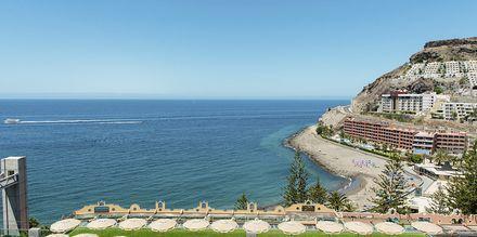 Udsigt fra Hotel Riviera Vista i Playa del Cura, Gran Canaria, De Kanariske Øer.