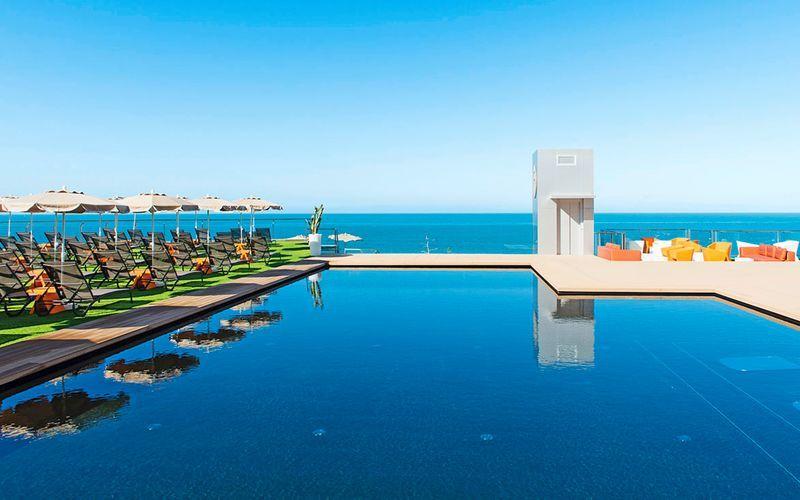 Poolen på Hotel Riviera Vista i Playa del Cura, Gran Canaria, De Kanariske Øer.