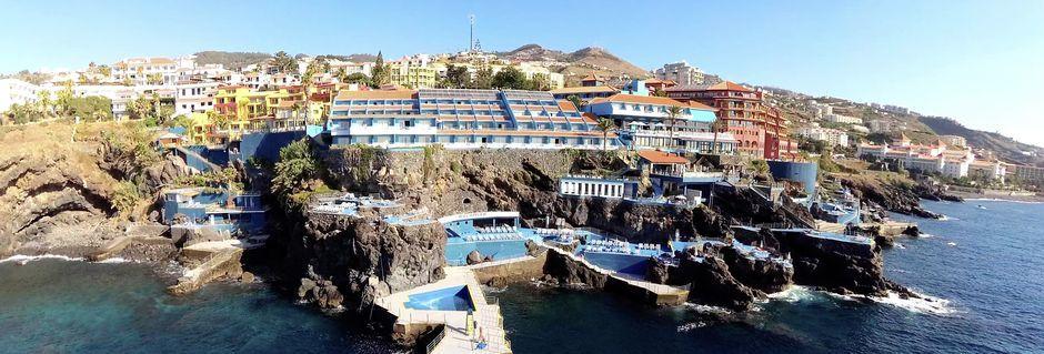 Hotel Rocamar Lido Resorts på Madeira, Portugal.