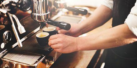 Espressi i Rom - et must for kaffeelskere.