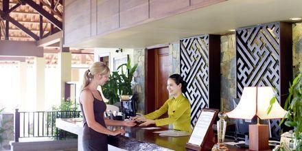 Receptionen på Hotel Romana Beach Resort i Phan Thiet