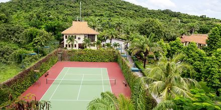 Tennis på hotel Romana Beach Resort i Phan Thiet