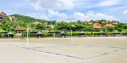 Beach Volley Fitness på hotel Romana Beach Resort i Phan Thiet