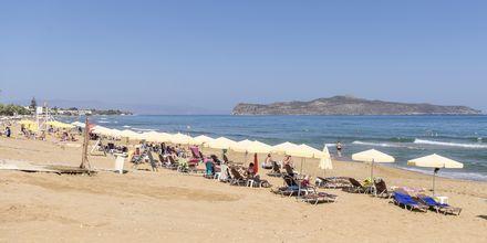 Stranden ved Hotel Rose i Kato Stalos på Kreta, Grækenland.