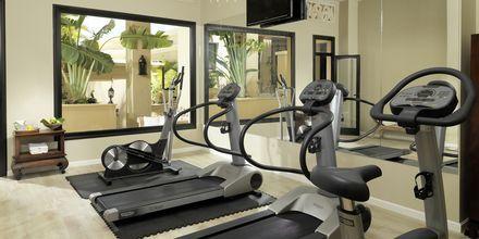 Fitness på hotel Royal Garden Villas i Playa de las Americas på Tenerife, Spanien
