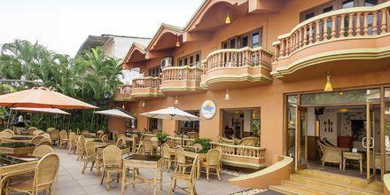 Ruffles Beach Resort, Det Nordlige Goa, Indien.