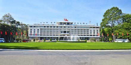 Præsidentpaladset i Saigon i Vietnam.