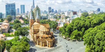 Saigon i Vietnam.