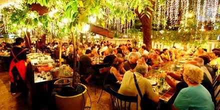 Restaurant i Saigon, Vietnam.