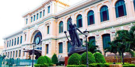 Postkontoret, Saigon i Vietnam.