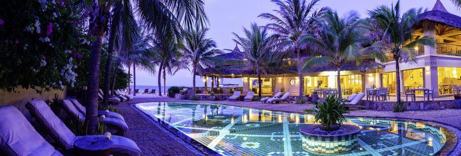Poolen på Sailing Club Mui Ne Resort i Phan Thiet, Vietnam