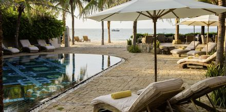 Poolen på Mia Mui Ne Resort i Phan Thiet, Vietnam