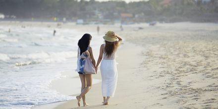 Stranden ved Sailing Club Mui Ne Resort i Phan Thiet, Vietnam